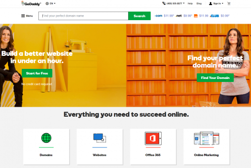GoDaddy Review by Webhostreviewers com